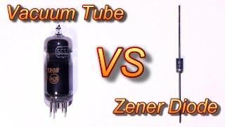 Zener Diode vs Tube Regulation and More