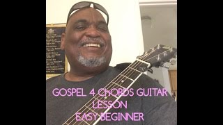 # 1 Easy Beginner How great is our God 4 chords guitar lessons Part 2