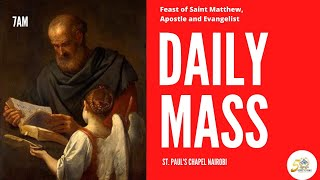 LIVE DAILY MASS | MONDAY 21ST SEPTEMBER 2020 | ST. PAUL'S UNIVERSITY CHAPEL, NAIROBI