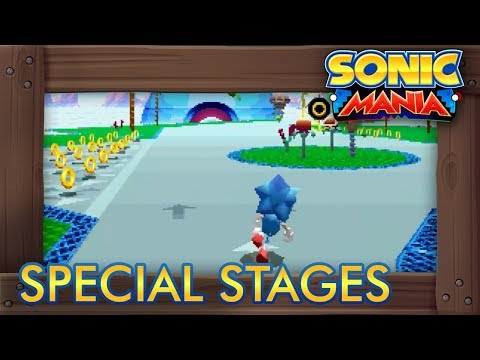Sonic Mania - All Special Stages & Chaos Emeralds