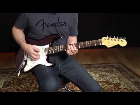 American Standard Fender Stratocaster Demo