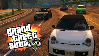 MINI CAR RAMPAGE | GTA 5 ONLINE