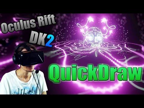 FR | Oculus Rift DK2 - QuickDraw - Une preview de Tilt Brush ?