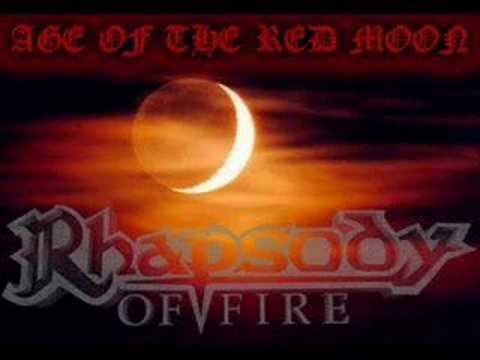 Rhapsody of Fire - Age of the red moon with Lyrics