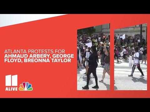 Atlanta Protests For Ahmaud Arbery, George Floyd, Breonna Taylor: Live Stream