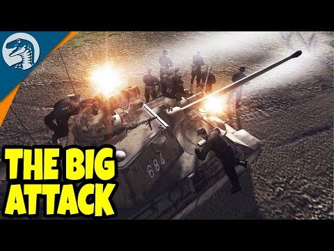 FULL SCALE WARFARE, TRENCH BATTLE | Men of War: Assault Squad 2 Gameplay