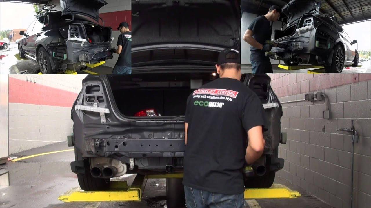 Subaru Crosstrek Hitch >> 2011-2014 Subaru Impreza WRX Sedan EcoHitch® Trailer Hitch- Torklift Central - YouTube