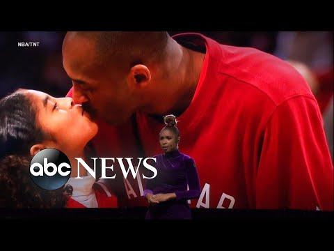 Kobe, Gigi Bryant Honored At NBA All-Star Game   ABC News