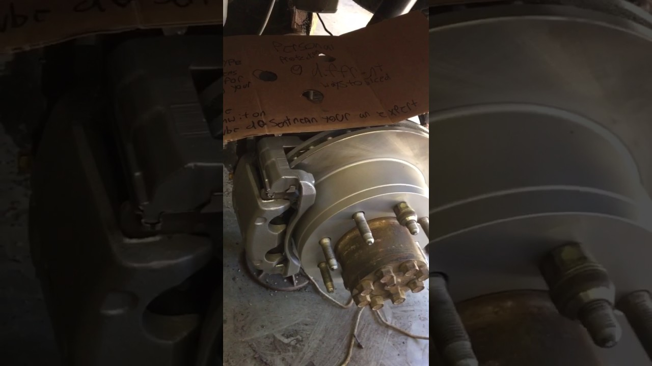 Bleeding brakes on a chevy Silverado part one