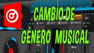 Virtual DJ - Cambio de género musical