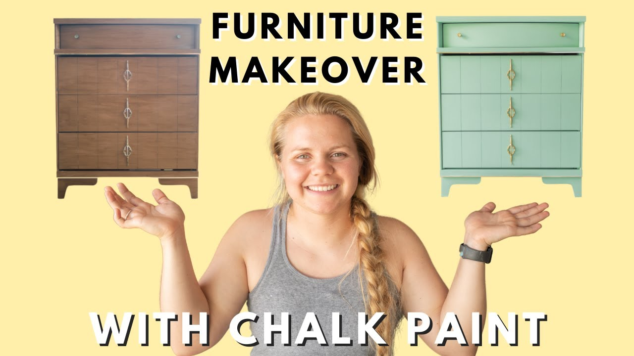 A Chest of Drawers Makeover with Chalk Paint