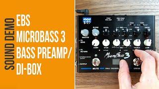 EBS Microbass 3 - Sound Demo (no talking)