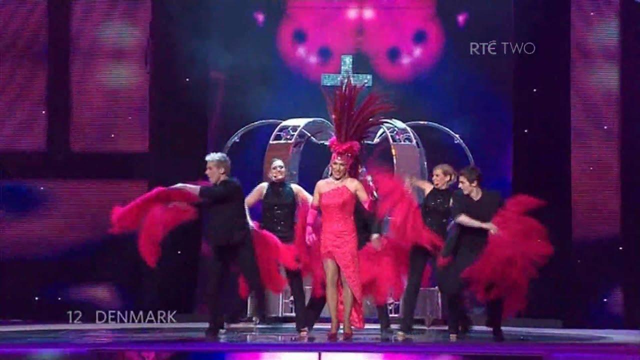 Risultati immagini per eurovision 2007 denmark