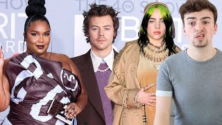 BRIT AWARDS 2020 FASHION ROAST (billie eilish's looks are tired, but thank god for harry styles)