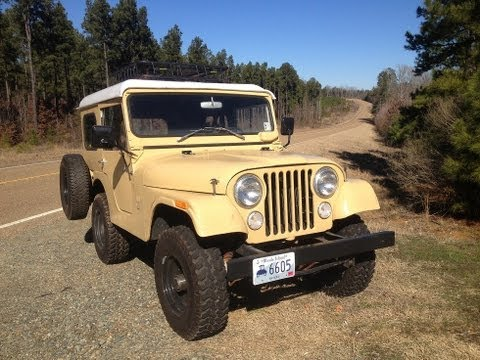 "1970 Kaiser Jeep CJ5 from TV Show ""Dig Fellas"" Restoration for metal detecting, off road 4x4"