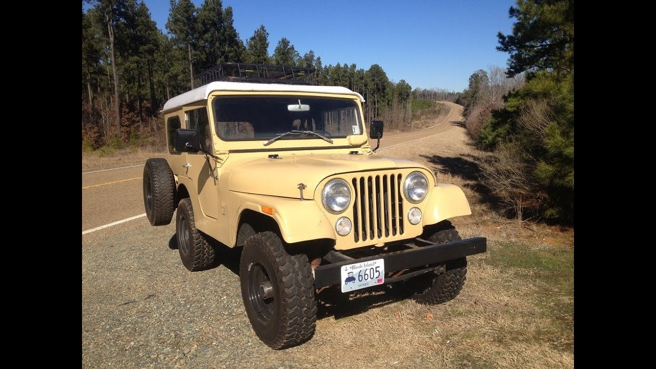 1970 kaiser jeep cj5 from tv show dig fellas restoration for metal detecting off road 4x4 [ 1280 x 720 Pixel ]