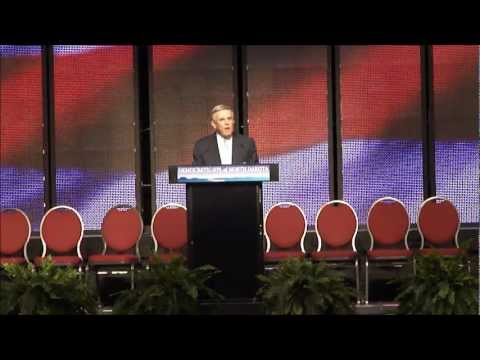 N.D. Democratic-NPL convention 2012: Dorgan nominates Gulleson
