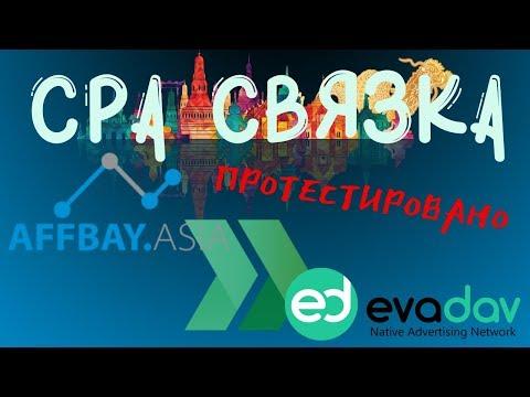 Проверка связки CPA сети Affbay и рекламного PUSH сервиса Evadav