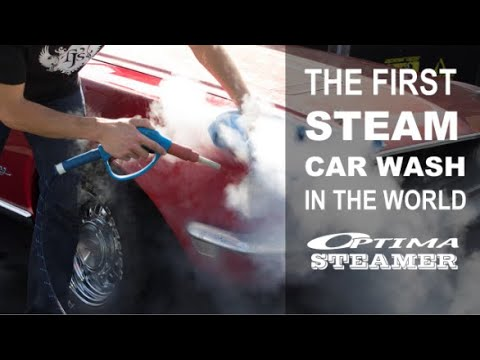 Steam Car Wash Machine - Optima Steamer (Steam Car Cleaning Machine)