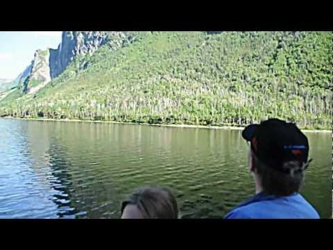 Western Brook Pond Waterfalls, Gros Morne National Park, Newfoundland