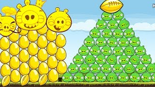 Angry Birds - COMPLETE TOTAL 33 GOLDEN EGGS WALKTHROUGH GOLDEN STAR