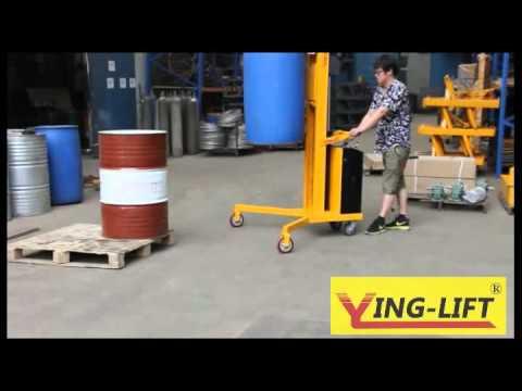 DT300 Drum Stacker / Drum Transport Equipment With Double Gator Grip Grab