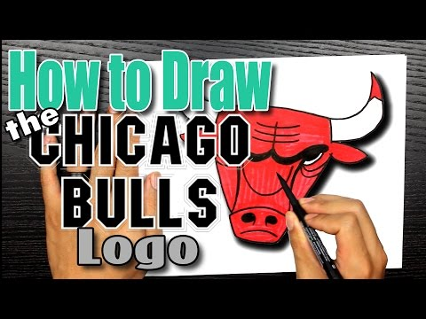 🎨 How to Draw the Chicago Bulls Logo