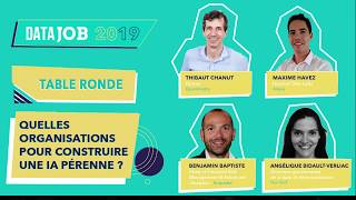 DATAJOB Table ronde IA Pérenne