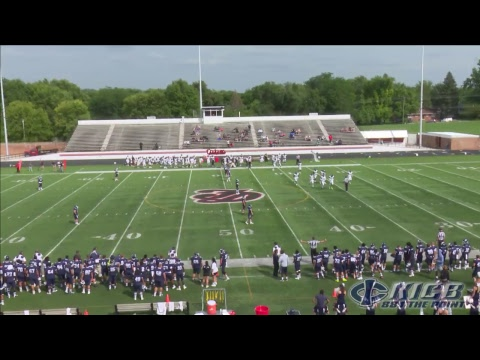 Football: Iowa Central vs College of DuPage (8/25/2017)