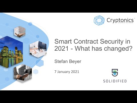 Smart Contract Security in 2021 - What Has Changed?