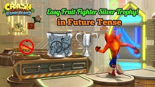 Easy Fruit Fighter Silver Trophy in Future Tense Crash Bandicoot Warped