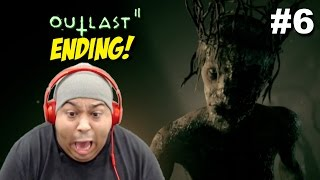 THIS B#TCH SCARED ME FOR THE LAST TIME!! [OUTLAST 2] [ENDING] [#06]