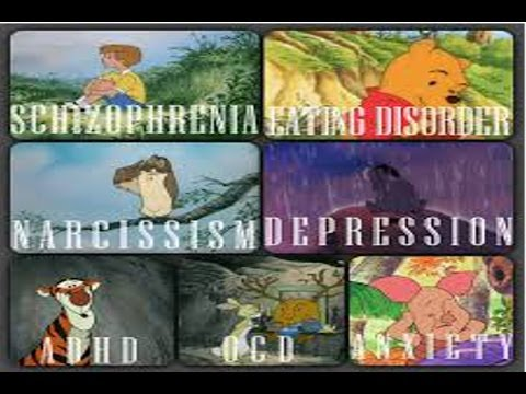 Winnie the pooh characters all have mental disorders popfilm