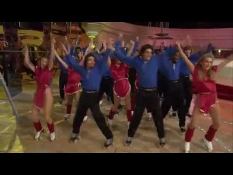Roller skate + Xanadu Gene Kelly & Olivia Newton John