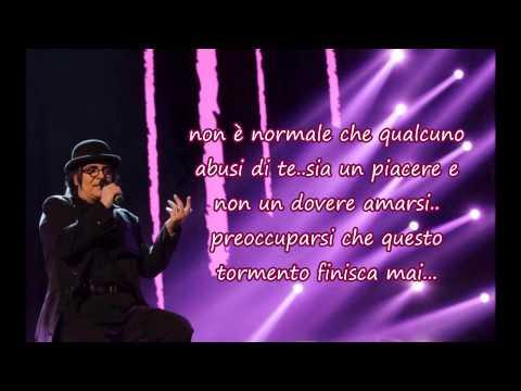 Renato Zero - Nessuno Tocchi L'amore (con testo)
