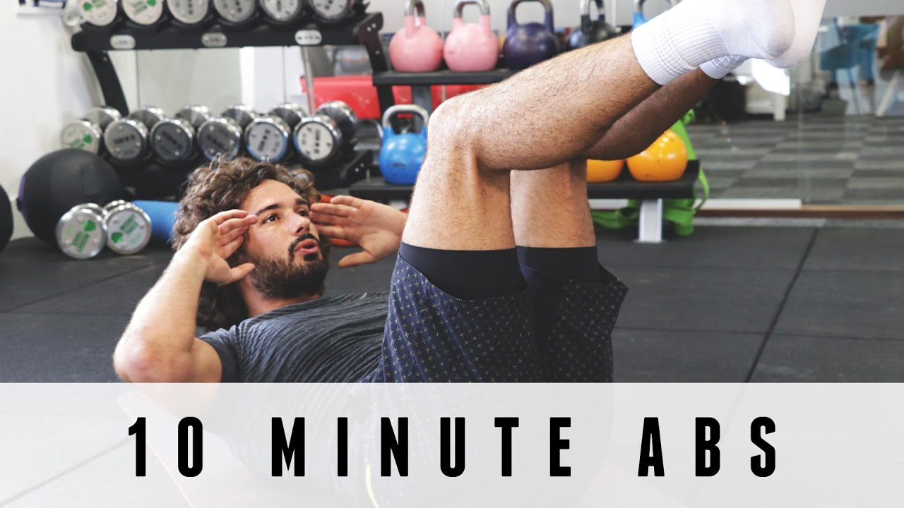 10 Minute Abs Workout The Body Coach Youtube
