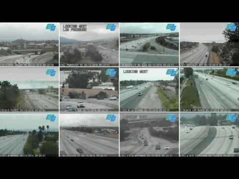 Timelapse Riverside CA Traffic Camera - Live Caltrans feed