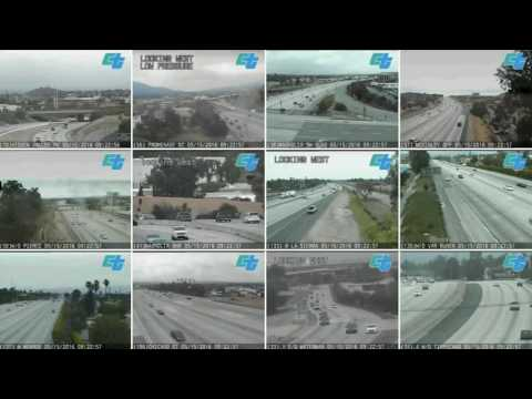 Timelapse Riverside CA Traffic Camera - Live Caltrans feed