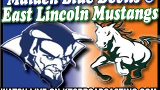 East Lincoln 56-28 win over Maiden - 2015 football