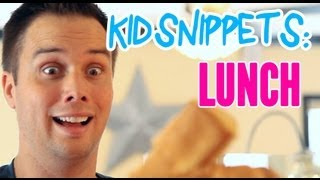 "Kid Snippets: ""lunch"" (imagined By Kids)"