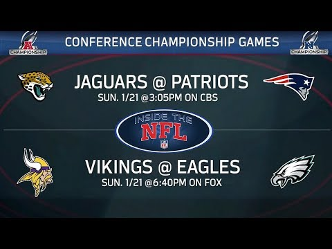 AFC & NFC Championship Preview & Game Picks | Inside the NFL