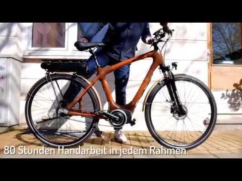Das Bambuspedelec My Volta Das Bambus E Bike Von My Boo Youtube