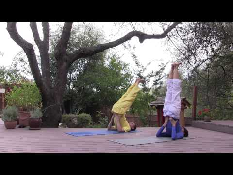 Sivananda Yoga: How To Practice the Shoulderstand posture with detailed insturctions