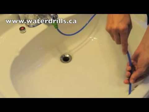 Waterdrills Sink Overflow Demo