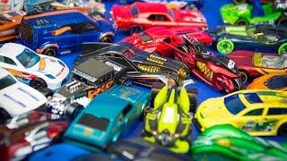 Hot Wheels 50 Pack Toy Cars & Trucks Surprise Box pt 2 Kinder Playtime