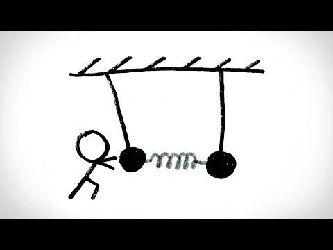 Примечание: Двойные маятники [MinutePhysics]