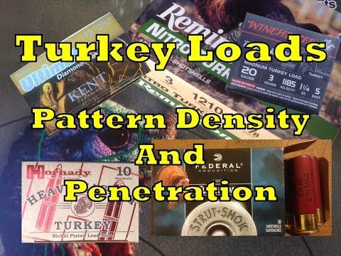 Shotshell Patterning- Pattern Density and Penetration Testing for Turkey  Loads- RGO Ep 40