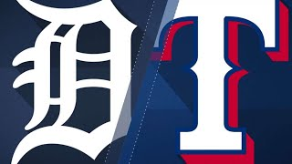 Tigers smash 3 homers in victory over Rangers: 5/8/18