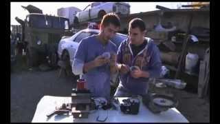 Серйозний тест компресора АК-35 для підкачки шин