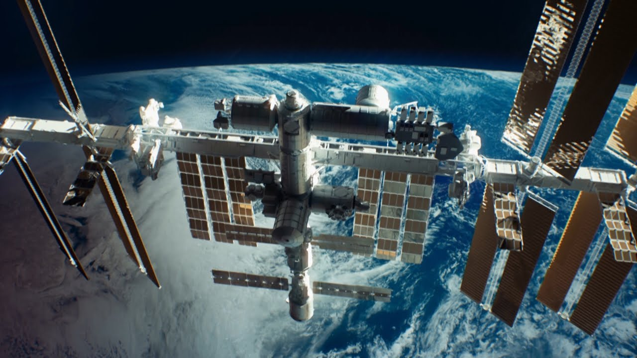 Is The Iss Safe From Space Debris Youtube